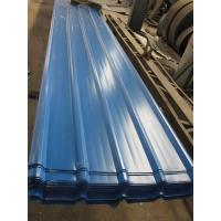 Wholesale 1500 - 3800mm Length JIS G3322 CGLCC, ASTM A792 Prepainted Corrugated Steel Roof Sheets from china suppliers