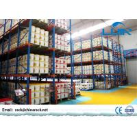 China Logistics Storage Drive In Pallet Rack 1350 - 3900mm Width Corrosion Resistance on sale