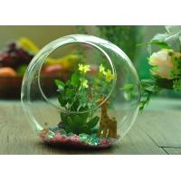 Wholesale Gift Hanging Teardrop Tealight Holder / Hanging Glass Terrarium Containers from china suppliers