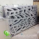 Tree aluminium veneer sheet metal facade cladding bending sheet 2.5mm thickness for curtain wall facade decoration