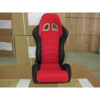 Quality Cloth Fabric Material Sport Racing Seats Fully Reclinable / Auto Car Seats for sale