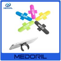 China Eco-friendly Silicon 3M Sticker Mobile Phone Stand/Cell phone silicone holder for sale