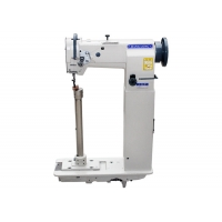 Wholesale Single Needle 1600RPM Unison Feed High Post Bed Sewing Machine from china suppliers