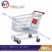 Wholesale 210L Austrlia Style Basket Shopping Trolley With Four Wheels For Mall from china suppliers