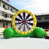 Wholesale Indoor Playground Inflatable Dart Board , Inflatable Garden Toys For Toddlers from china suppliers