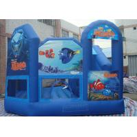 Funny Inflatable Toddler Playground , Waterproof Inflatable Air Castle With CE Blower