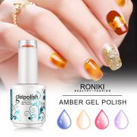 Wholesale Roniki Forest Green Series Color Gel,Nail Painting Color Gel,Nail Art Gel from china suppliers