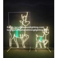 Wholesale led reindeer outdoor christmas decorations from china suppliers