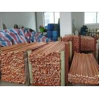 Wholesale Dia 1/25/83/4 2.44-3.05m Professional Copper Earthing Rod , Earthing Ground Rod from china suppliers