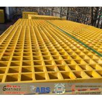 Wholesale Yellow FRP Grating from china suppliers
