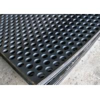 Wholesale 2mm Thick Perforated Steel Mesh, 41 % Open Rating Black Perforated Iron Sheet from china suppliers