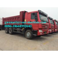 Wholesale 336HP,371HP 10 Wheel 6 x 4 Driving Heavy Duty Dump Truck With WABCO System / Strengthen Bumper LHD/RHD from china suppliers