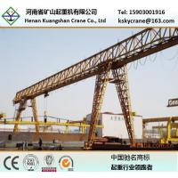 China trussed type single girder gantry crane 3t~20t for sale