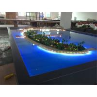 Wholesale Miniature Villa 3D Model Refined Handmade Technic With Lighting System from china suppliers