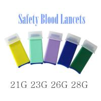 China Disposalbe Safety Blood Lancets Medical sterile ISO approved on sale