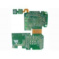 Wholesale Controller Rigid Flexible PCB Printed Circuit Board with BGA / Fids / PTH Vias from china suppliers