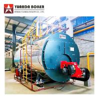 China Industrial Low Pressure Fire Tube 4 Ton Bunker Oil Steam Boiler for Carton Factory for sale