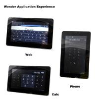 Quality 7 Inch Lcd Screen Built-In 3g Tablet Pc With Wm8850 CPU for sale