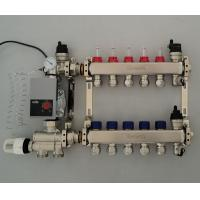 China Stainless Steel Underfloor Heating Manifolds Manufacturers from China for sale