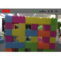 Wholesale Lightweight Outdoor Amusement Equipment Square Building Blocks from china suppliers