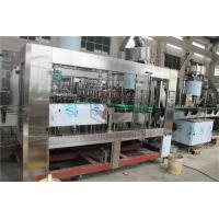 Wholesale Morgen Tea Glass Bottle Filling Machine , Juice Filling Line With Juice Return System from china suppliers