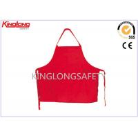 Buy cheap Restaurant / Hotel Unisex Chef Cook Uniform Cotton Kitchen Aprons from wholesalers