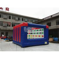 Quality Outdoor Electric Twister Inflatable Interactive Games With Logo Printing OEM for sale