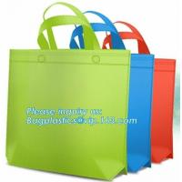 China Wholesale online promotional laminated non woven bag with Top Quality, promotional silk screen nonwoven bag spunbond bag on sale
