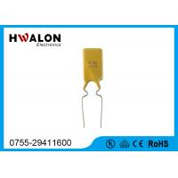 China Polymer Thermistor PTC Resettable Fuse Smaller Size With Short Circuit Protection on sale