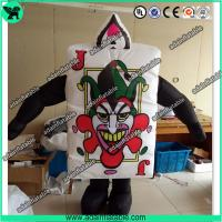Wholesale Festival Event Parade Wlking Inflatable Poker Costume Moving Customized Inflatable from china suppliers