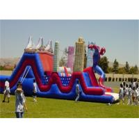 Wholesale Waterproof Large Commercial Spiderman Bouncer Obstacle Course for Rent from china suppliers