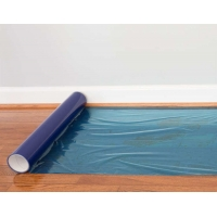 Wholesale Transparent Blue Peel Off 500MM 24 Inches Floor Protection Film for Wood Floor from china suppliers