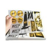 Wholesale Custom Logo Self Adhesive Vinyl Labels / Warning Stickers Eco Friendly from china suppliers