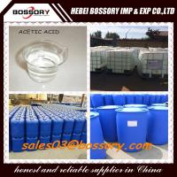 China Dyeing Matetrial Glacial Acetic Acid 99.8% on sale