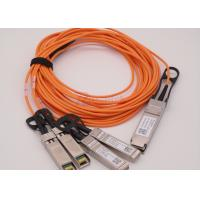 Wholesale Telecom Networking 40G Active Optical Cable 7m AOC QSFP 4xSFP from china suppliers