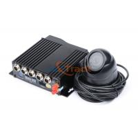 China 720P Dual SD Card Car Mobile DVR , 4 Channel DVR Recorder CE on sale