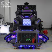 Buy cheap 9D Vr Simulator Terninator Racing 9D Race Car Simulator Virtual Cockpit Seat from wholesalers