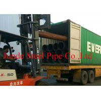 Buy cheap API 5L / ASTM A53  Standard ERW STEEL PIPES used in oil and gas project  SIZE OF 610MM*12.7MM from wholesalers