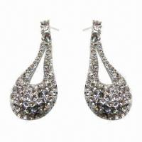 Wholesale Fashionable Stud Earrings, Nickel- and Lead-free from china suppliers