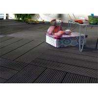 Wholesale Wood  Plastic Composite Easy install Home-decorating DIY Decking Tiles from china suppliers
