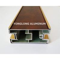 Quality Sliding Wardrobe Anodized Aluminum Structural Framing 1.2 / 1.4 Thinckness for sale