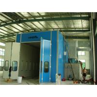 Quality Industrial Spray Booths 50mm EPS heat preservation panels Folding door for sale