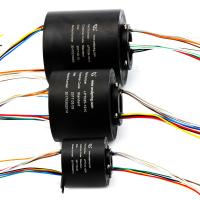 Wholesale Flexible Bore Size Compact Slip Ring Transmitted Signal / Circuit Number from china suppliers