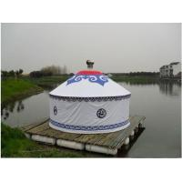 Wholesale Anti - Ultraviolet Mongolian Yurt Tent With Thickening Acupuncture Cotton from china suppliers