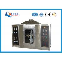 China SUS 304 Flame Test Apparatus For Paper Plasterboard Fire Stability Combustion on sale