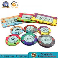 Wholesale :High-density Environmental Protection Casino Ceramic Code Manufacturers Design Custom Gambling Ceramic Chip Accept pers from china suppliers