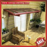 Wholesale outdoor villa house patio gazebo porch door window aluminum alu polycarbonate pc awning canopy canopies cover for sale from china suppliers