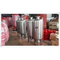 Wholesale Thermal Expansion Diaphragm Pressure Tank , Fire Sprinkler Water Storage Tanks from china suppliers