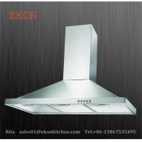 China EKM02 polished stainless steel chimney hood wall mounted on sale