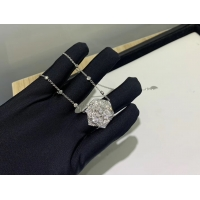 Wholesale Piaget Rose Pendant With 18k Gold Chain , Women'S Piaget Diamond Necklace luxury jewelry for sale from china suppliers